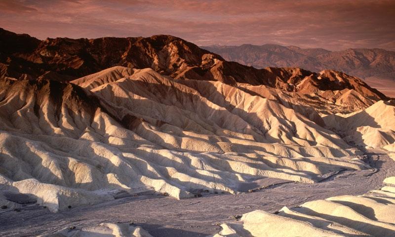 Zabirskie Point in Death Valley National Monument