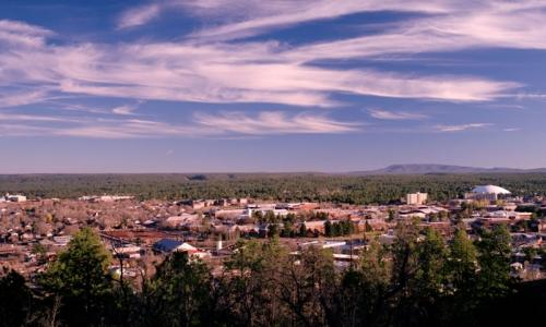 Overlooking Flagstaff Arizona