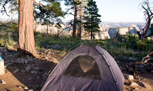 Backcountry Camping in Zion National Park