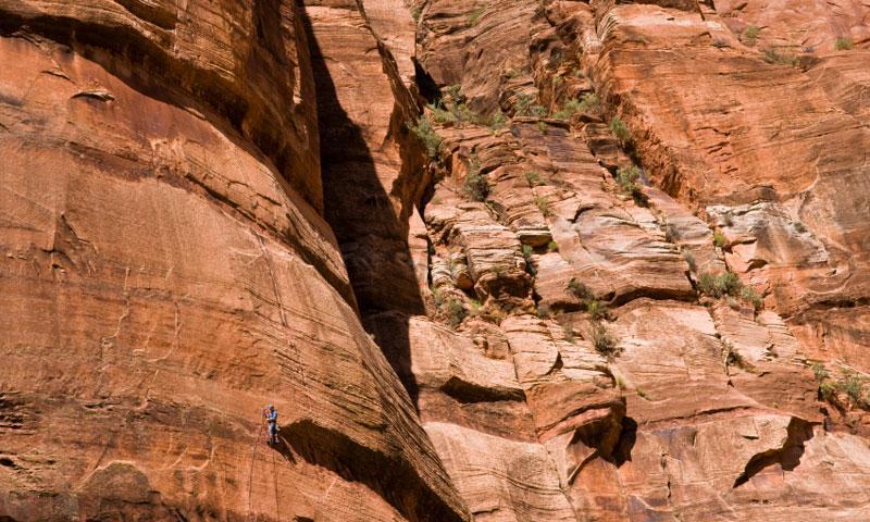 Zion National Park Climbing