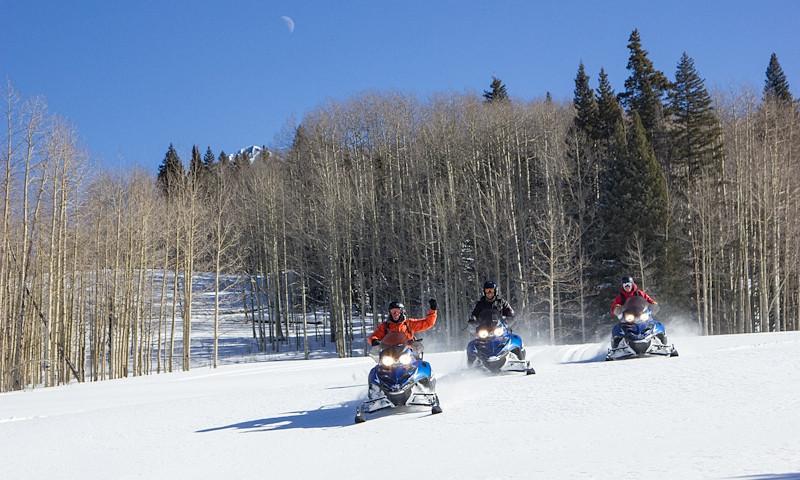 Telluride Colorado Snowmobiling