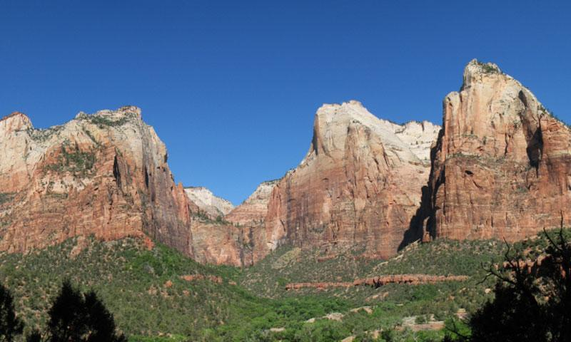 Court Of The Patriarchs Zion National Park Alltrips