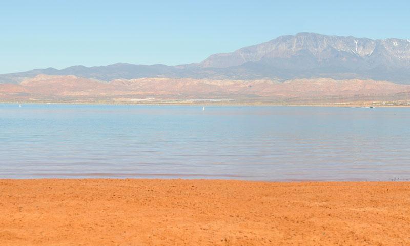 Sand Hollow State Park near Saint George Utah