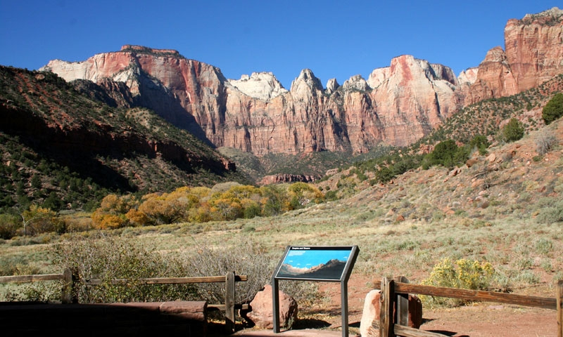 View from Zion History Museum