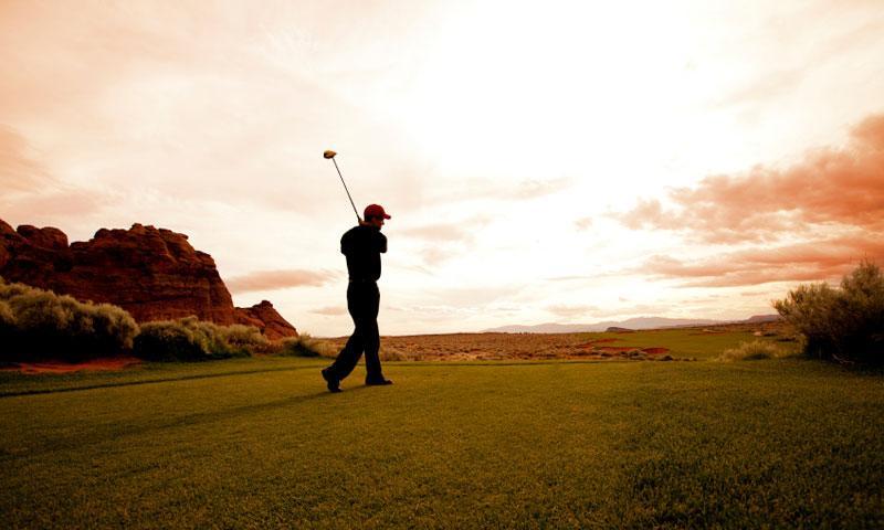 Golfing in Southern Utah