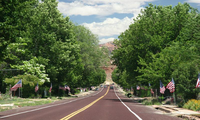 July 4th in Springdale Utah