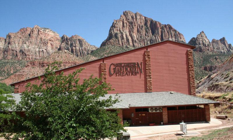 Giant Screen Theater in Springdale Utah