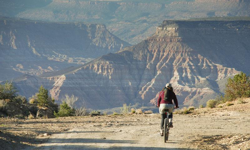 Mountain Biking near Zion National Park
