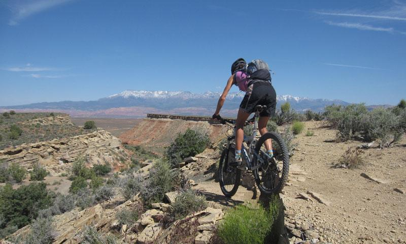 Mountain Biking the Jem Trail near Hurricane Utah
