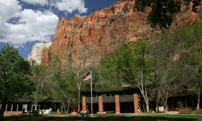 The Zion Lodge