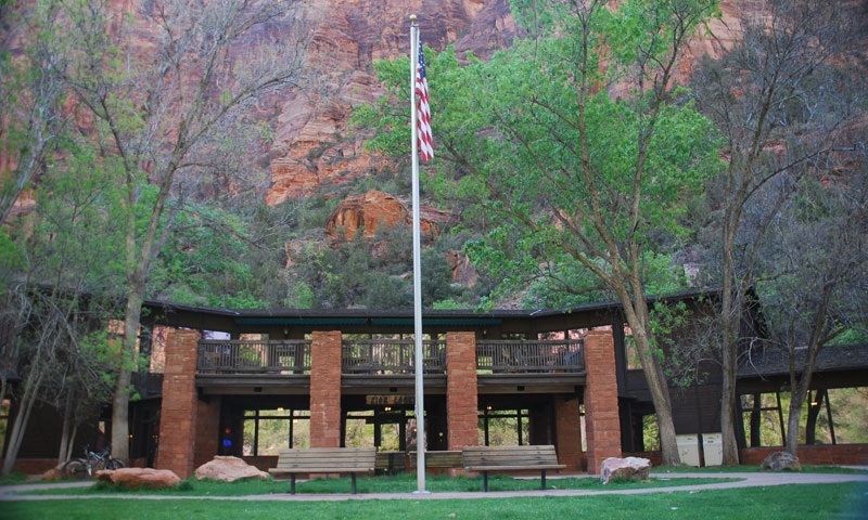 Zion national park lodge live webcam