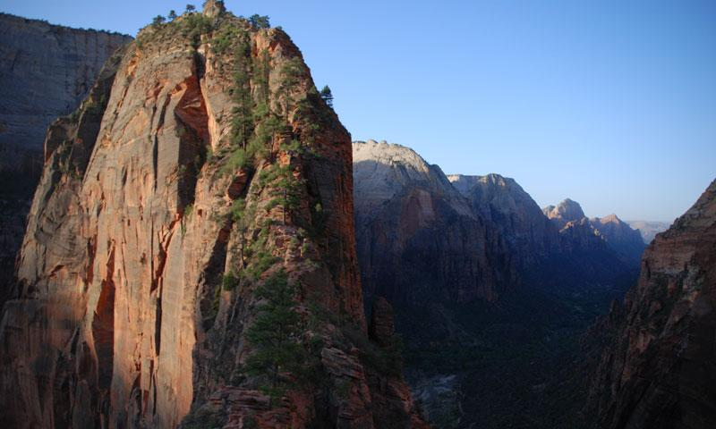 The Trail to Angels Landing in Zion National Park