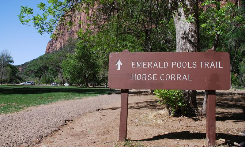 The Emerald Pools Trail in Zion National Park