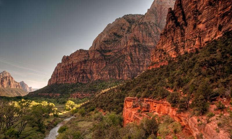 Stunning Zion Canyon