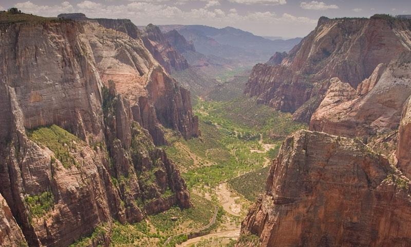 Zion National Park Canyon Utah