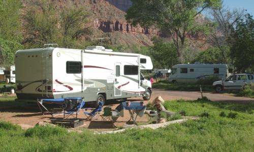 utahs national parks camping vacationing