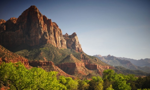 The Watchman Zion National Park Utah